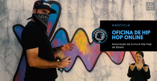 Associação da Cultura Hip Hop de Esteio lança Oficina de Hip Hop online com tradução em libras