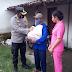 Peduli Sesama, Kapolres Ngawi Turun Langsung Berikan Bantuan Sembako Pada Korban Banjir