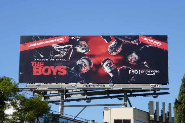 The Boys 2019 FYC billboard