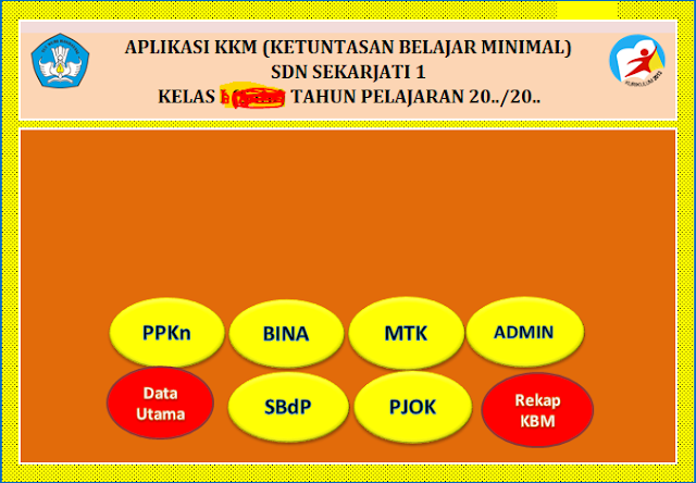 Download KKM SD Kelas 2 Kurikulum 2013