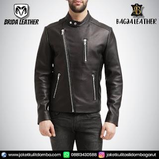 jaket kulit vintage