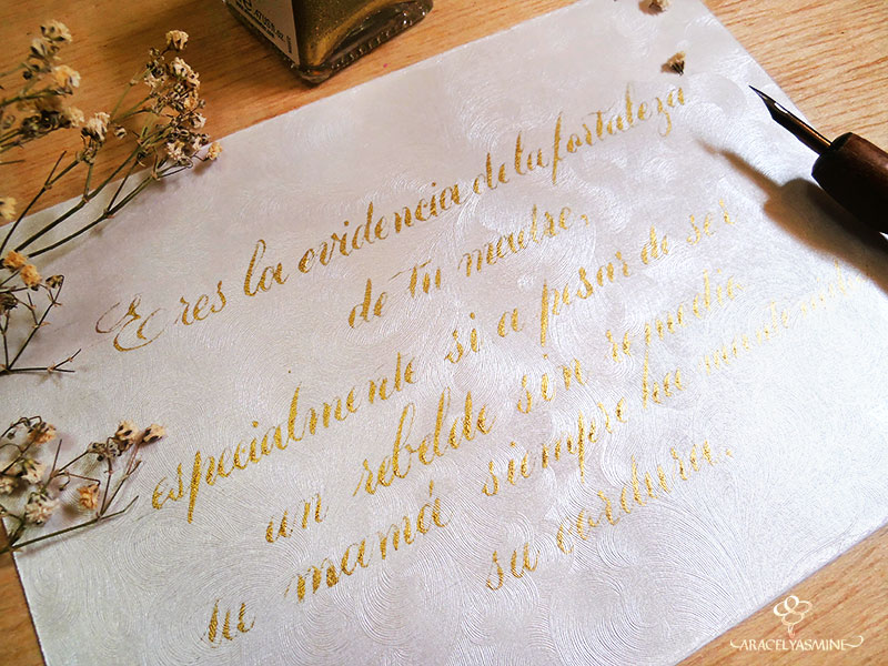frase día de la madre caligrafia copperplate hunt 108