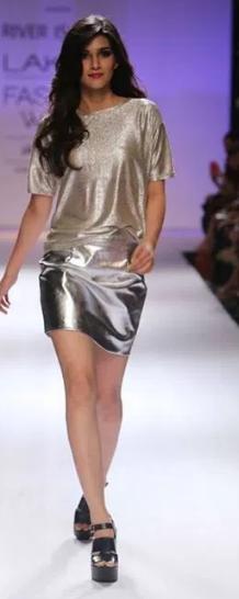 Here's a walk down Kriti Sanon's modelling memory lane
