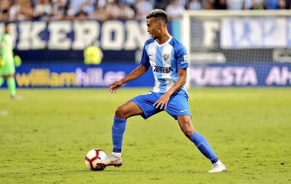 Málaga, nueva lesión de Hicham: lesión de grado I-II isquiotibiales de la pierna izquierda