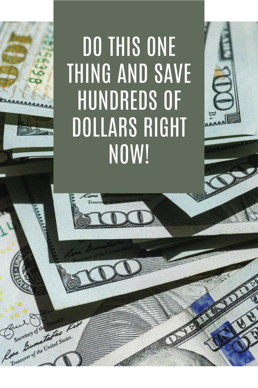 SAVE MONEY FINANCES
