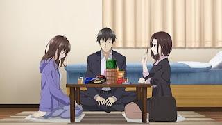review anime higehiro konflik cinta antara yoshida sayu dan yoshida gotou