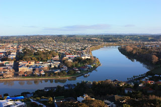 The Whanganui river, now – legally – a person. (Image Credit: Ang Wickham / Wikimedia Commons) Click to Enlarge.