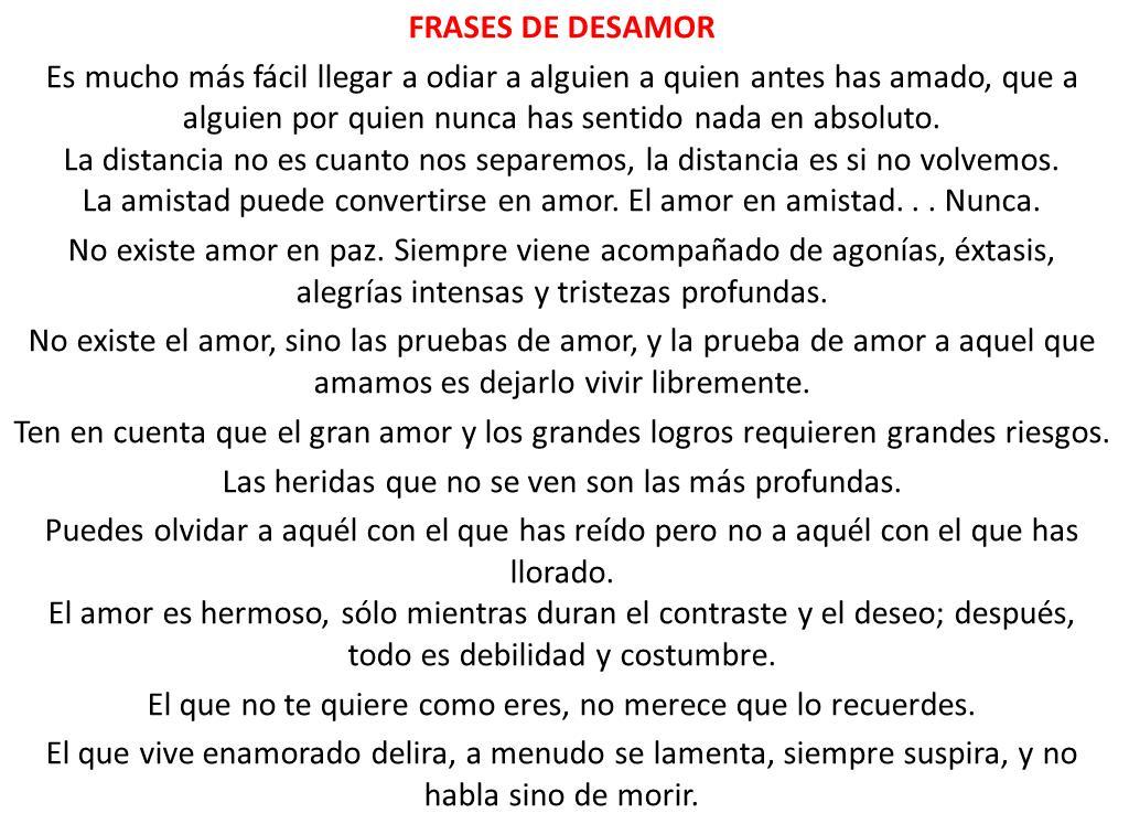 Frases De Amor Gratis Online Frases De Despechodespechados