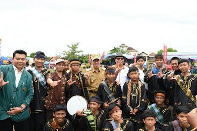 Wah.. Ada Festival Budaya, Pameran Produk Unggulan dan Perupustakaan Keliling Lho di Lapangan Merdeka Way Jepara