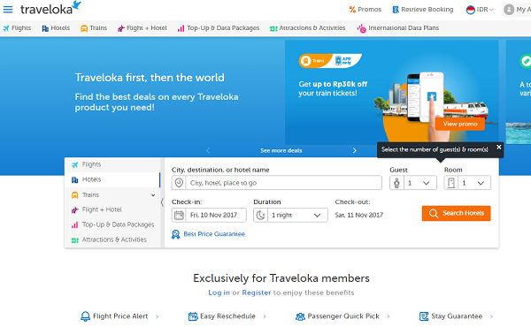 booking hotel terpercaya di Traveloka