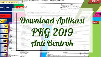 Aplikasi PKG 2019 Anti Bentrok Terbaru
