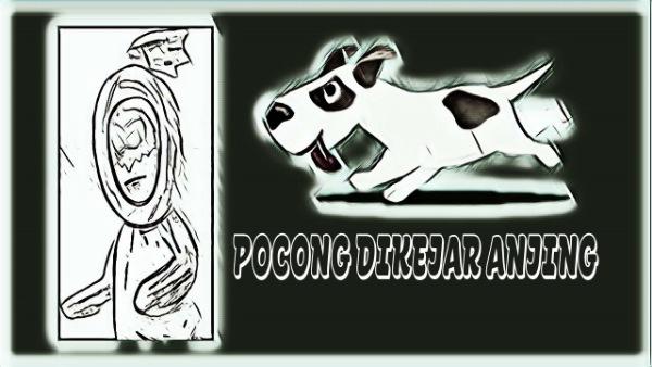 Video Viral Pocong Dikejar Anjing