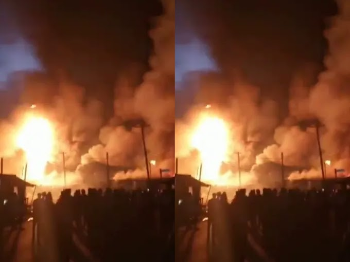 Gas explosion rocks Port Harcourt community [Video]