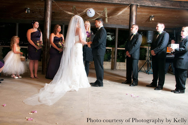 Wedding at Hillside Gardens in Colorado, rained out