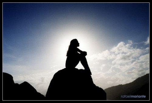 Resultado de imagen para soledad en la cima de lamontaña