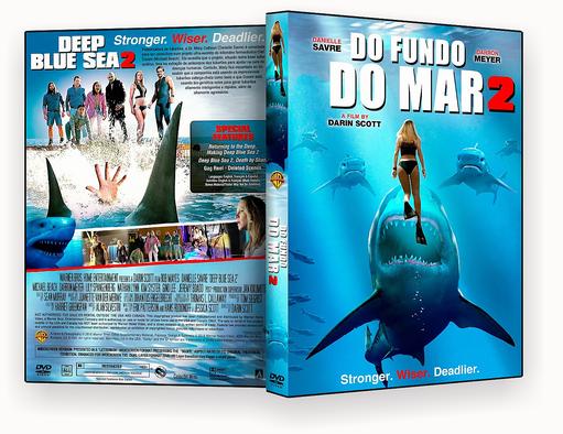Do Fundo do Mar 2 2018 Dublado DVD-R AUTORADO