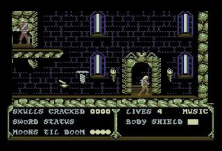 Videojuego Masters of the Universe The Arcade Game - Commodore 64
