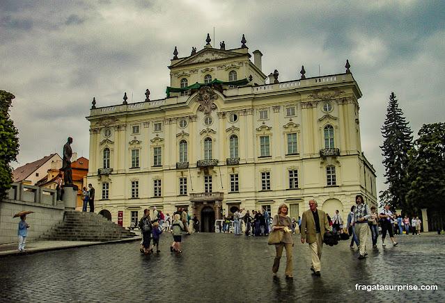 Praça do Bairro do Castelo de Praga