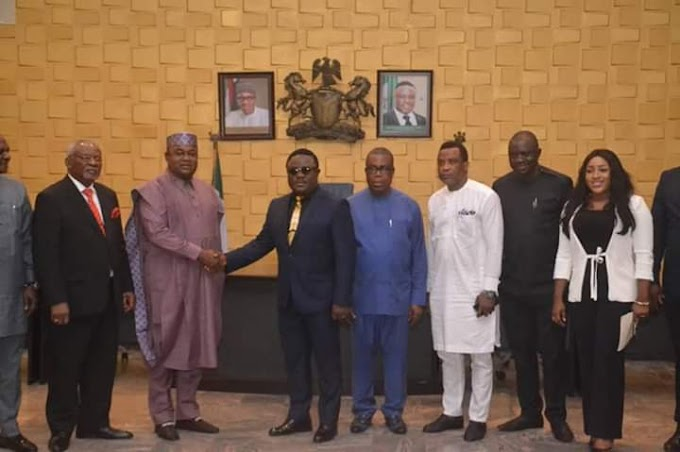 Gov Ayade inaugurates 10 man Task force  Committee on Loans Review.