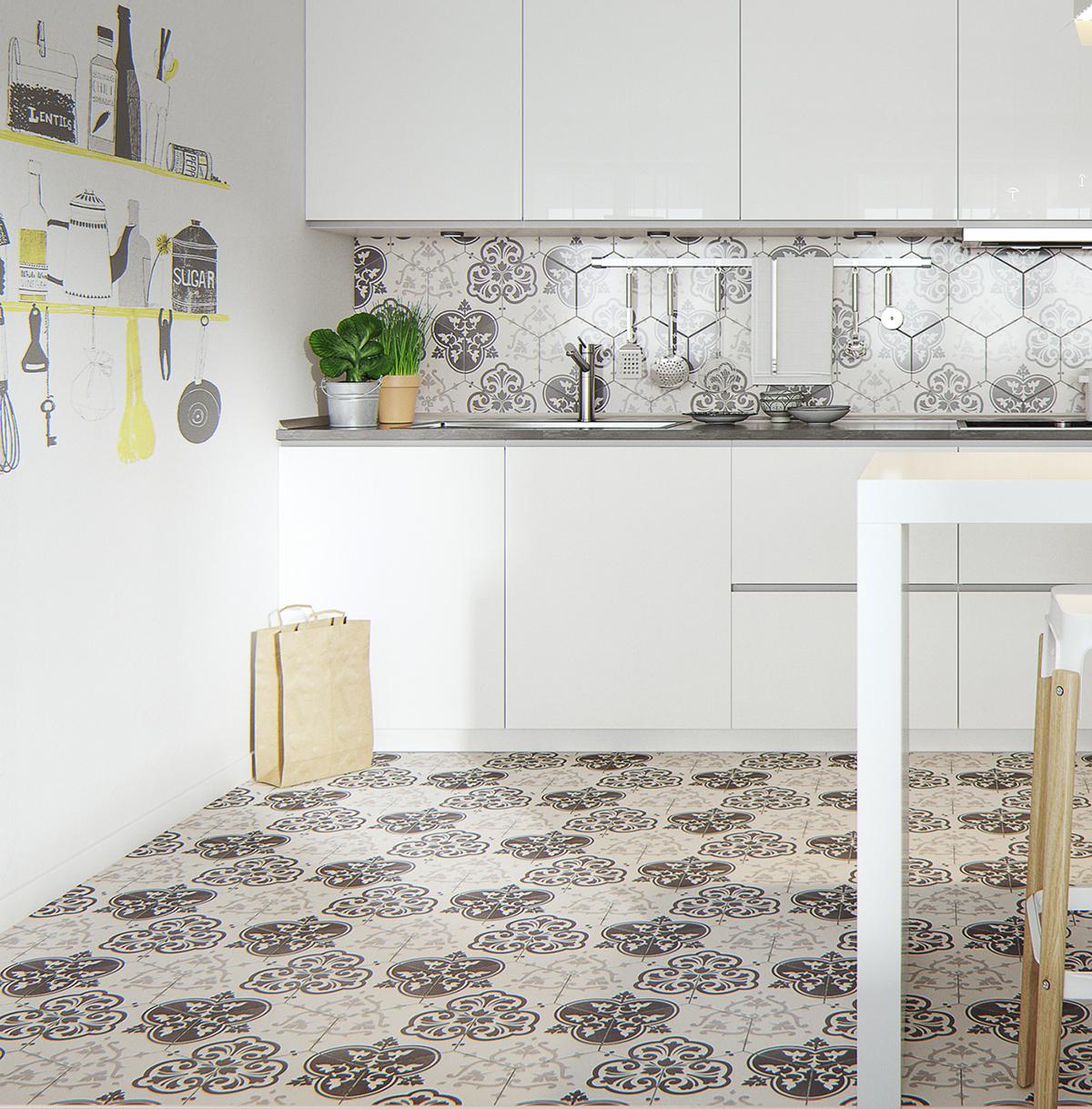 15a0cd730 Tendência 2017  azulejos especiais nas cozinhas