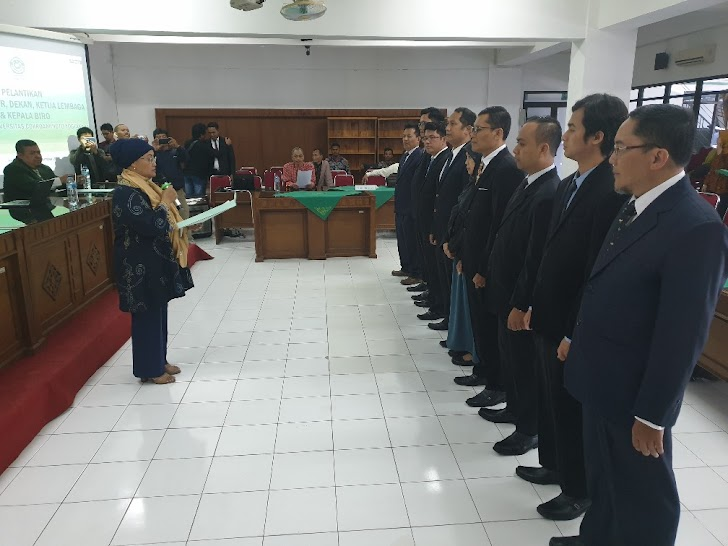 Lantik Sejumlah Pejabat Baru, UCY: Untuk Hadapi Tantangan Jaman