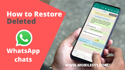 How to restore deleted WhatsApp chats