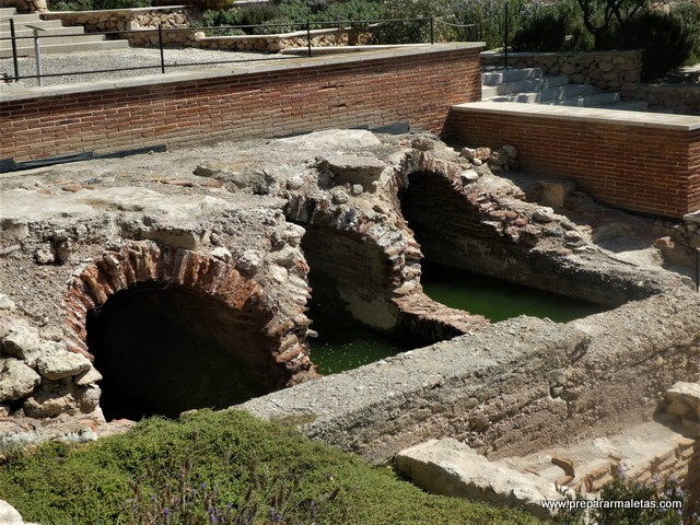restos arqueológicos Alcazaba de Almería