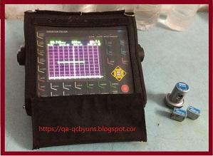 Ultrasonic Testing of Welds on Plates
