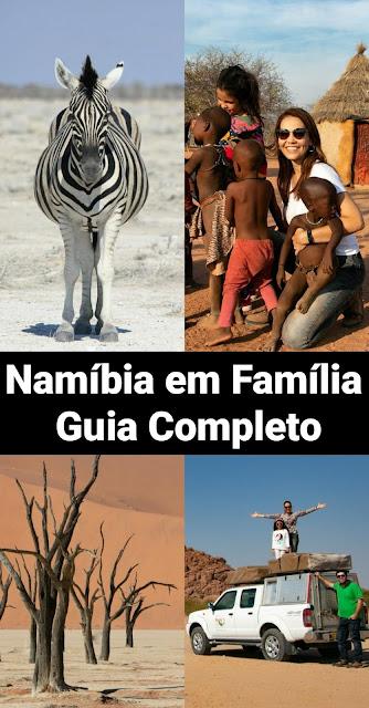 Viagem para Namíbia