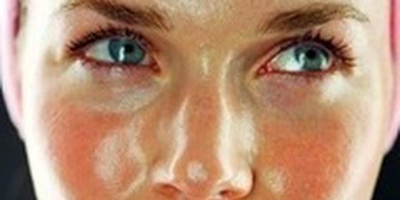 Pele oleosa e maquiagem