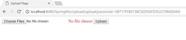 No file choose