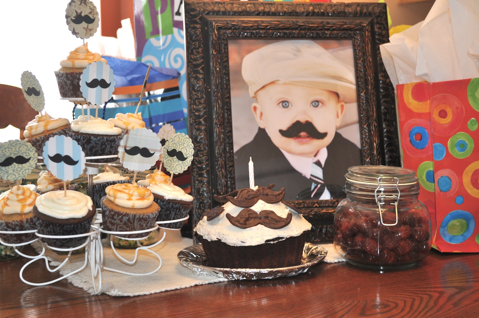 Individual Rivalry Little Man Mustache Bash Birthday Party