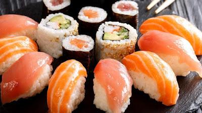 sushi makanan untuk ibu mengandung