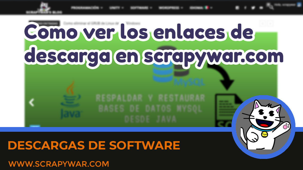 How to view download links on scrapywar.com