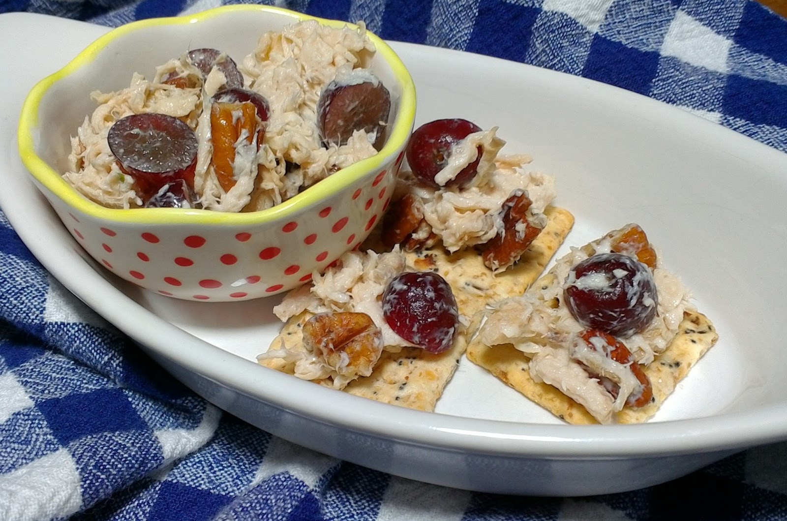 Cooking With Kary Chicken Salad With Red Grapes And Pecans - Cuisine pro 27