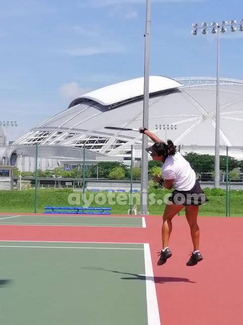 Aldila Sutjiadi Pancang Target Tembus Final Turnamen Tenis Pertamina 25K ITF Women's Circuit