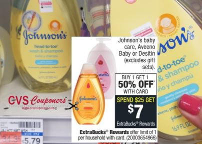 Johnson's cvs couponers deal