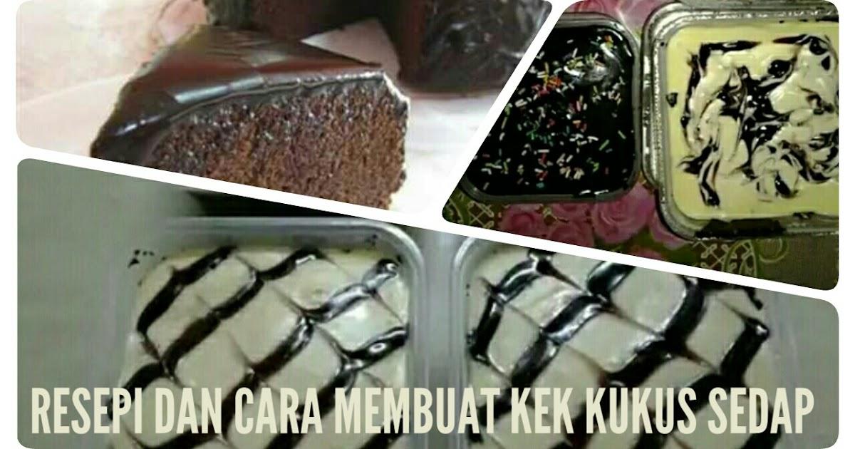 resepi kek kukus  mudah umi wasiati Resepi Kek Coklat Moist Guna Periuk Nasi Enak dan Mudah