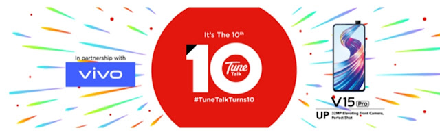 WIN A VIVO V15 PRO BY TAKING PART IN TUNE TALK'S FAVEBOOK CONTEST