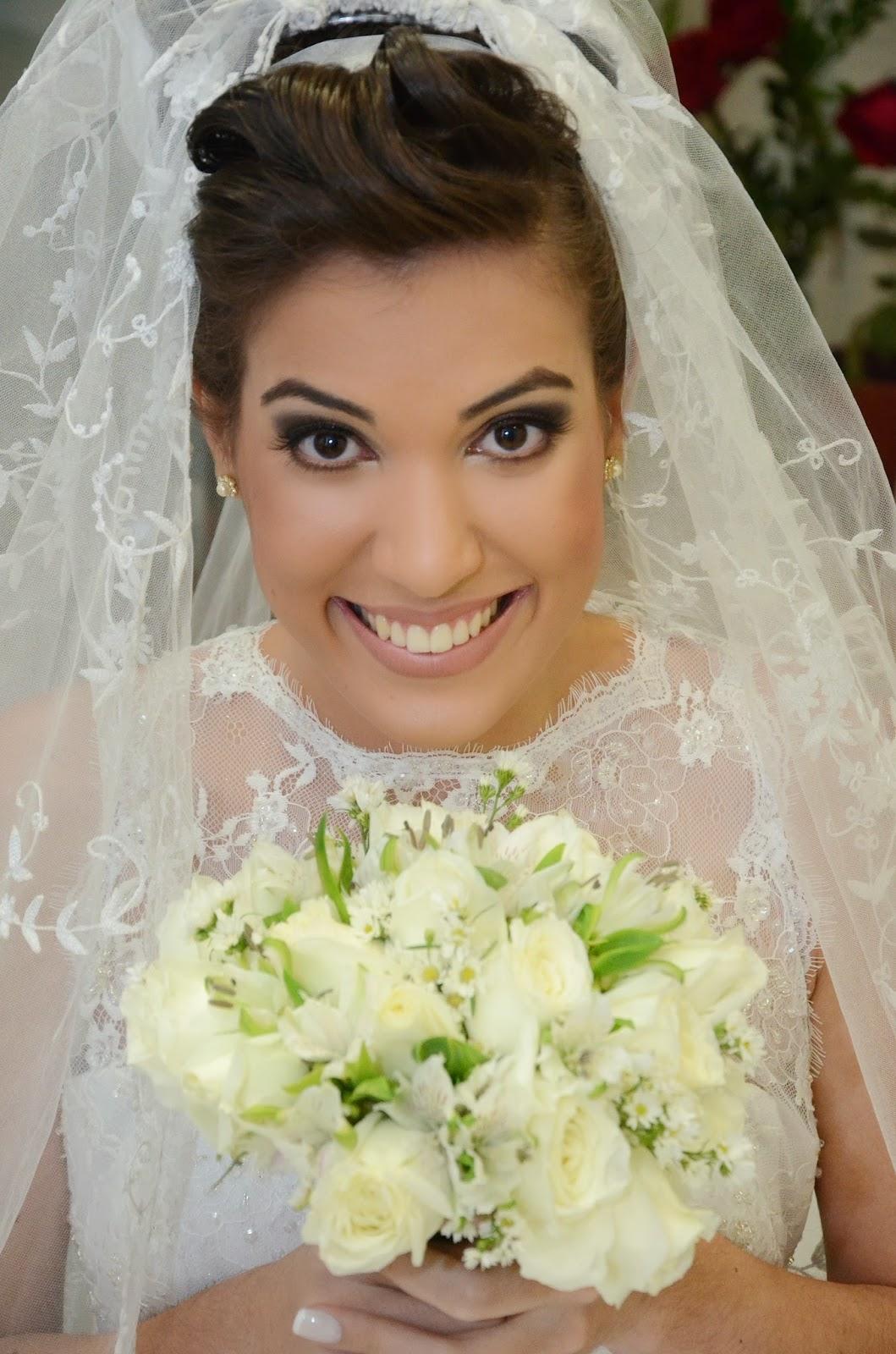 noiva - making of da noiva - making of - dia da noiva - make - cabelo - penteado - bouquet - véu