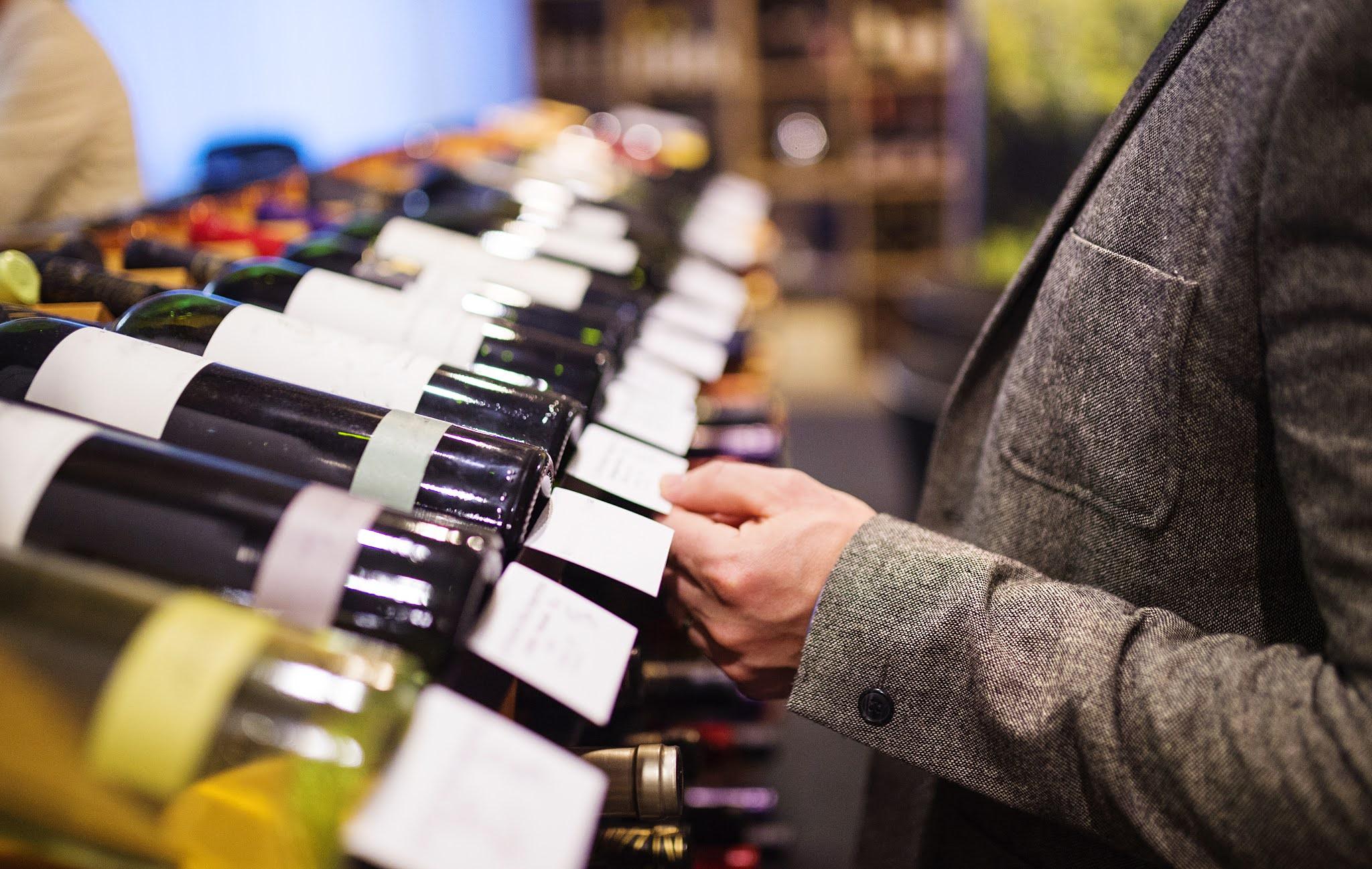 personalised wine label design