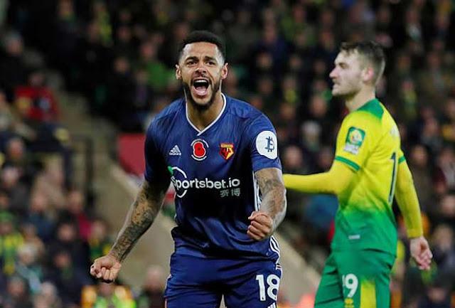 Video Norwich 0-2 Watford: Bước ngoặt solo, vỡ òa chiến thắng đầu tiên (Vòng 12 Ngoại hạng Anh) 2