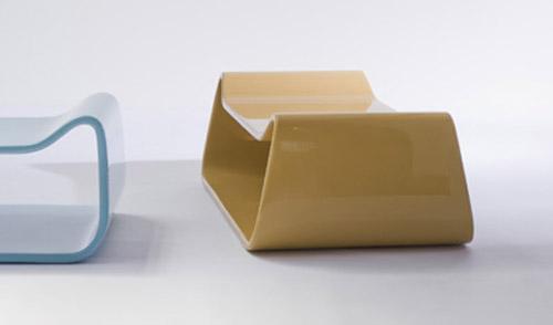 Diseño de sillón minimalista