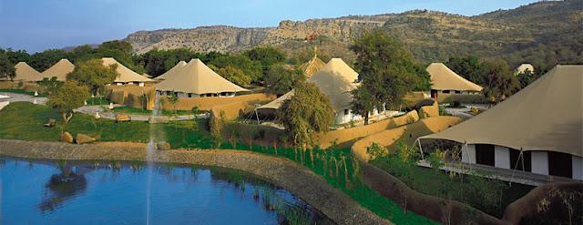 Celebra tu boda en un hotel de lujo en plena reserva de tigres - Foto: www.indovacation.net