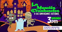 POS 3 La mansión Frankenston | Teatro Quimera