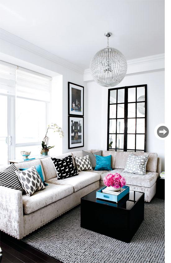 decoração, blog de decoração, decoração de sala, apartamento decorado, decoração de apartamentos pequenos, decoração em turquesa