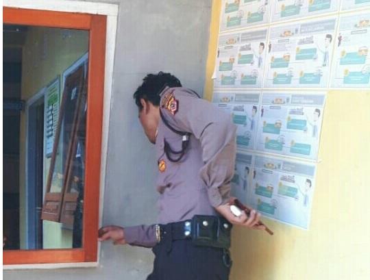 Kawanan Pencuri Beraksi di Kantor Desa Jadimulya Kec.Langkaplancar