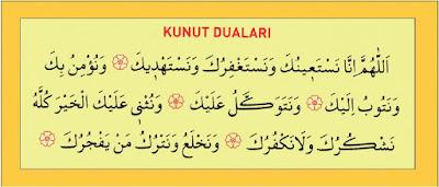 Kunut Duaları Okunuşu ve Anlamı