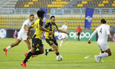 ملخص هدف فوز المقاولون العرب علي البنك الاهلي (1-0) الدوري المصري