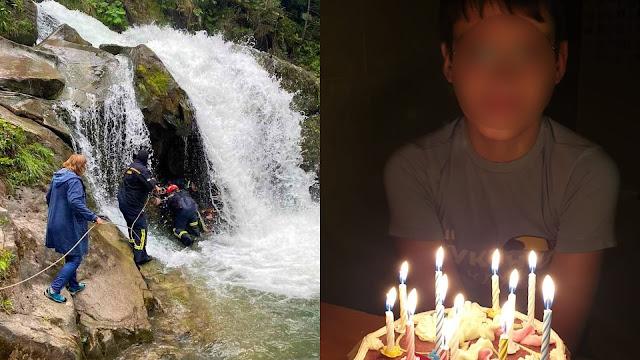 Мальчик из Львова отметил 12-летие и через день погиб на экскурсии, пытаясь сделать селфи у водопада